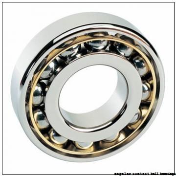 40 mm x 80 mm x 30,162 mm  FBJ 5208ZZ angular contact ball bearings