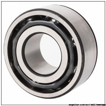 42 mm x 75 mm x 45 mm  ISO DAC42750045 angular contact ball bearings