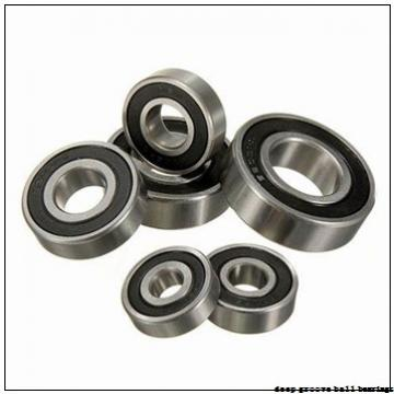 2,5 mm x 6 mm x 2,6 mm  ISO 618/2,5 ZZ deep groove ball bearings