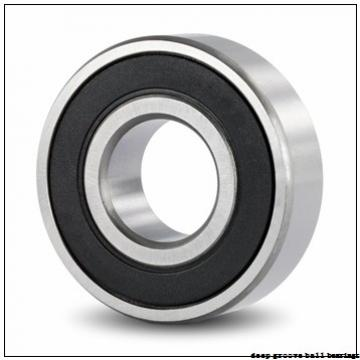 6 mm x 22 mm x 7 mm  ISO 636-2RS deep groove ball bearings