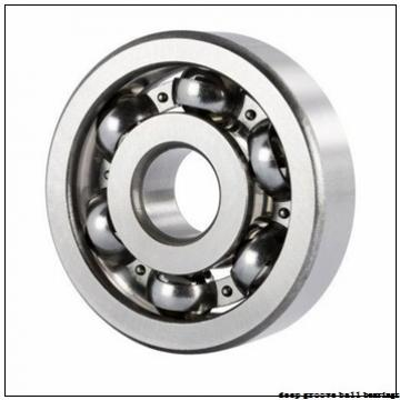 85 mm x 180 mm x 109,5 mm  SNR EX317G2 deep groove ball bearings