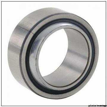50 mm x 130 mm x 33,5 mm  ISO GE50AW plain bearings