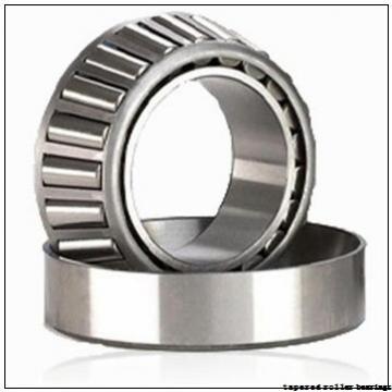 76,2 mm x 136,525 mm x 33,5 mm  Gamet 133076X/133136X tapered roller bearings