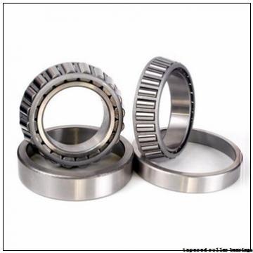 22 mm x 47 mm x 17,5 mm  NKE T2CC022 tapered roller bearings