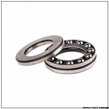 130 mm x 280 mm x 93 mm  SKF NU 2326 ECML thrust ball bearings