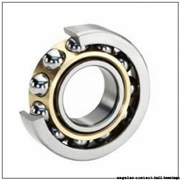 12 mm x 37 mm x 12 mm  NSK 7301 B angular contact ball bearings #1 image