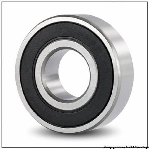 80 mm x 125 mm x 22 mm  NSK 6016N deep groove ball bearings #2 image