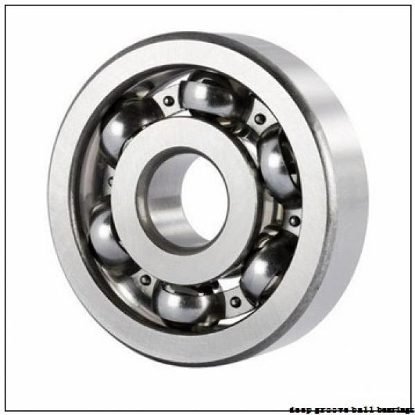 80 mm x 125 mm x 22 mm  NSK 6016N deep groove ball bearings #3 image